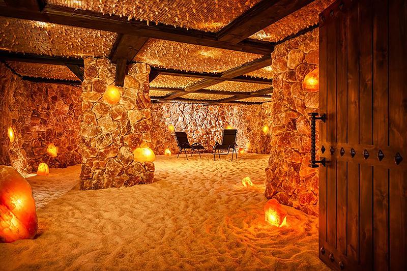 Salt Caves of Santa Barbara California