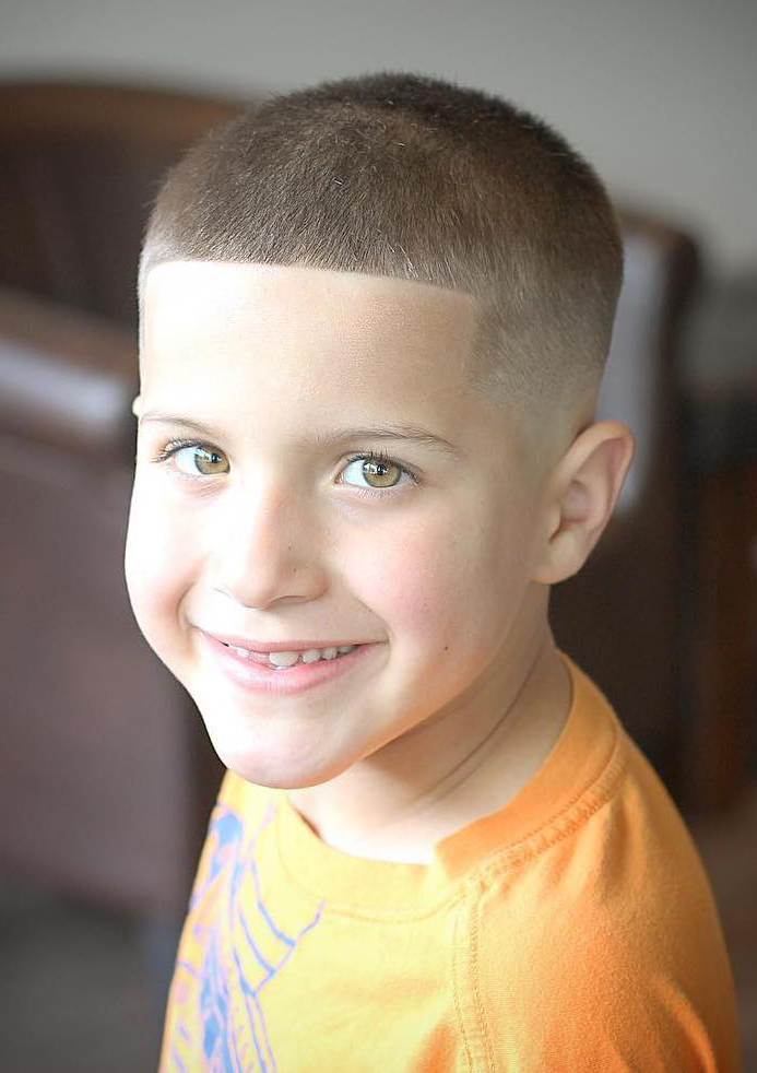 Buzz Cut with Tapered Fade