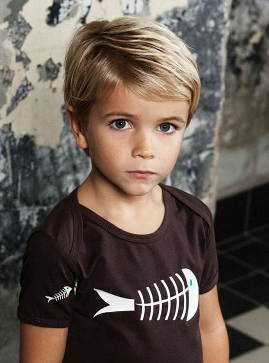 Comb Over Fringe Little Boy Hairstyles