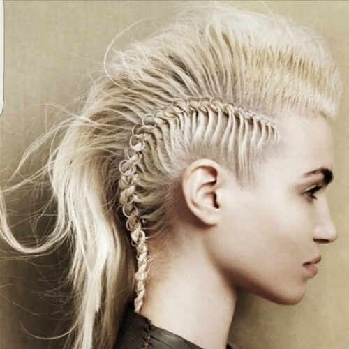 Edgy Mohawk Hairstyle