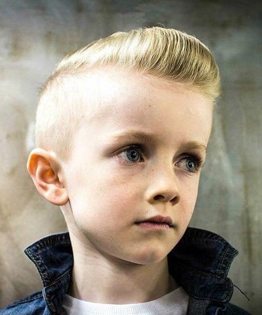 Junior Pompadour Blonde