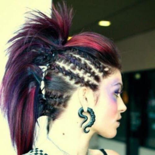 Punk Faux Hawk